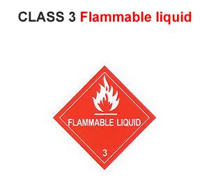IMDG LABEL CLASS 3
